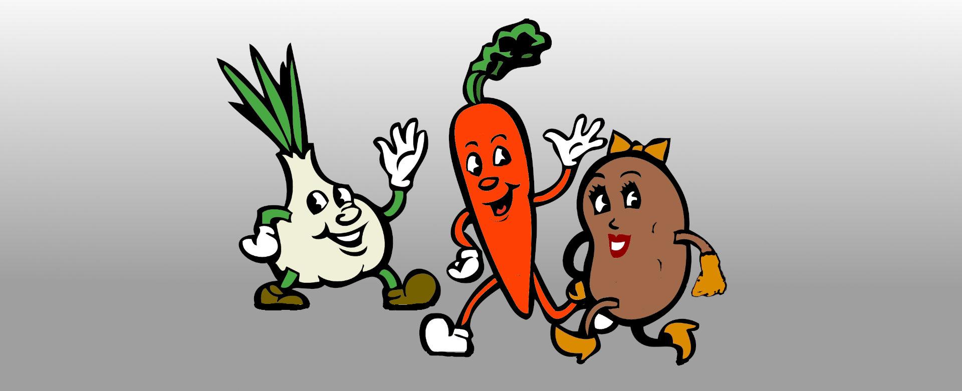 Wir sind das freakige Gemüse